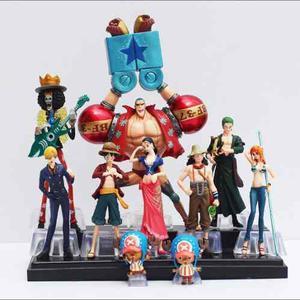 Set 10 Figuras Coleccionables One Piece Anime Envío Gratis