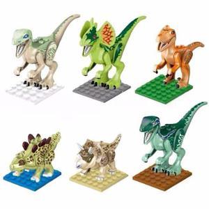 Set 6 Pzs Dinosaurios Compatible Lego Jurassic World