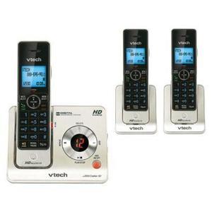 Set De 3 Telefonos Inalambricos Hd Vtech - Dect 6.0 Ls6425-3