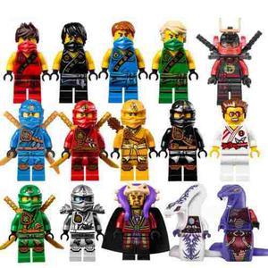 Set Sw1 Ninjago 15 Figuras Compatible Mas Regalo Spiner