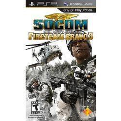 Socom U S Navy Seals Fireteam Bravo 3 Nuevo Sellado Juego Ex
