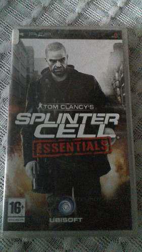 Splinter Cell Essentials Psp Umd Nuevo Sellado De Fabrica