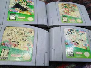 Super Mario 64 Nintendo 64,cv,nes,snes,ps3,psp,ps4,xbox,cubo
