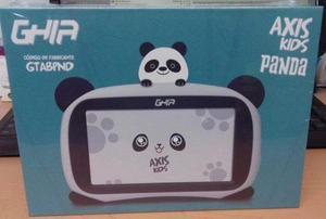 Tablet Ghia Kids Android 8.1 Tableta Uso Rudo Panda 3 Pieza