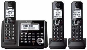 Telefono Inalambrico Tirple Doble Teclado Y Bloqueo De Llama