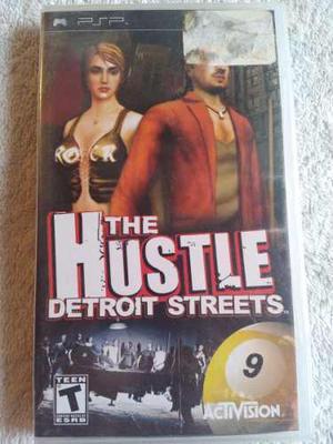 The Hustle Detroit Streets Sony Psp Juego Nuevo Y Sellado