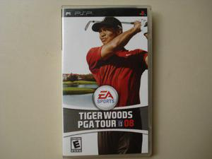 Tiger Woods Pga Tours 08 Juego Psp