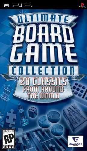 Ultimate Colección De Juegos De Mesa (valcon) - Sony Psp