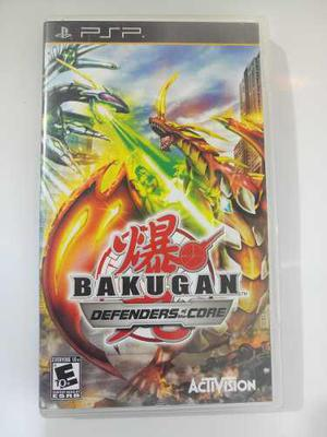 Video Juego, Psp Bakugan Defenders Of The Core, Playstation