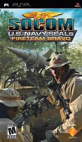Videojuego Psp Socom U.s Navy Seals Fireteam Bravo