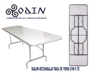 Fabrica de sillas plegables de uso rudo y mesas