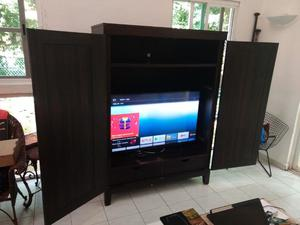 MUEBLE TV MADERA FINA