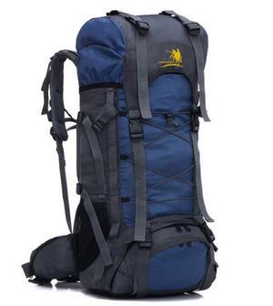 Mochila Campismo Senderismo Viaje Azul 60l Envio Gratis