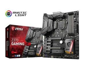 Msi Tarjeta Madre Z370 Gaming M5 Intel 1151 8va Ddr4 Rgb M.2