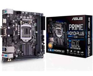 Tarjeta Madre Asus Prime Intel H310i-plus/csm Ddr4 1151