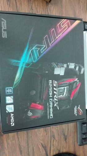 Tarjeta Madre Asus Rog Strix B250h Gaming - Socket: Intel®