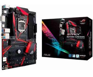 Tarjeta Madre Asus Rog Strix Intel B250h Gaming Ddr4 1151