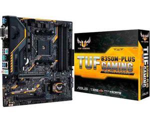 Tarjeta Madre Asus Tuf B350m-plus Gaming Socket Am4 Ddr4 M.2