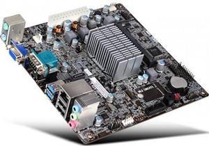 Tarjeta Madre Ecs Bswi-d2 Intel J3060 Integrado Mini Itx