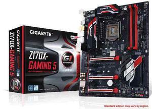 Tarjeta Madre Gigabyte Intel Skylake Ddr4 Ga-z170x-gaming 5