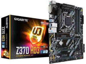 Tarjeta Madre Gygabyte Z370 Hd3 Para Intel 8va Generacion!