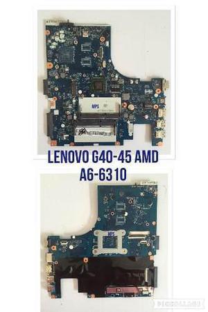 Tarjeta Madre Lenovo G40-45 Amd A6-6310 Mother A6