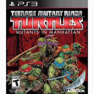 Teenage Mutant Ninja Turtles Mutants In Manhattan Nuevo- Ps3