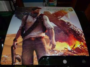 Uncharted Tapa Para El Ps3 Slim Original Sony