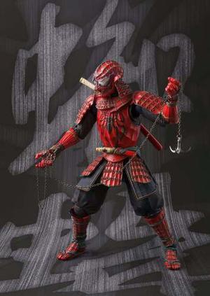 Figura De Accion Spider-man # 6 Samurai 15 Cm