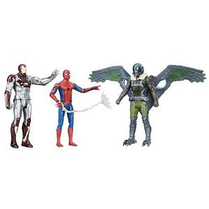 Marvel Figura De Acción Spider, Man, Web City, Multipack