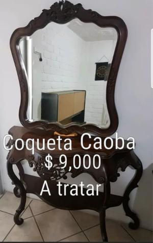 Muebles de Caoba seminuevos