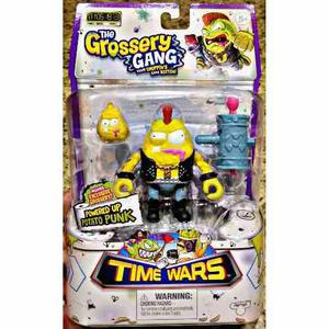 Potato Punk Patata Grossery Gang Time Wars Figura De Accion