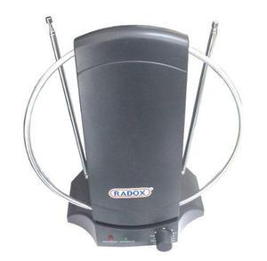 015-349 Antena Hd Para Interior Con Amplificador De Señal