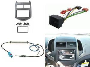 Adaptador De Frente Arnes Antena Chevrolet Sonic 2012 A 2016