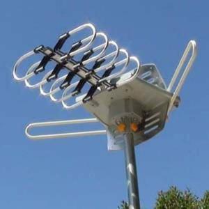 Amplified Digital Hd Antena Hdtv Exterior Con Motorizado Rot