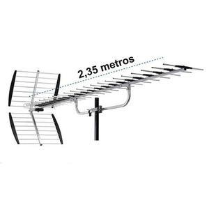 Antena Aerea 25 Elementos P/ Zonas De Dificil Recepcion