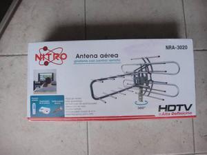 Antena Aerea Giratoria Exterior Alta Definición Hd Para Tv