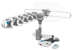 Antena Aérea Para Tv Giratoria 360° Con Cable Volteck