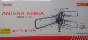 Antena Aérea Para Tv Giratoria 360 Grados A Control