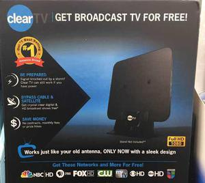 Antena Clear Tv Nueva Original