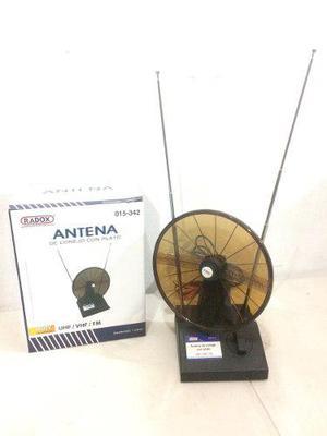 Antena De Conejo Con Plato 015-342