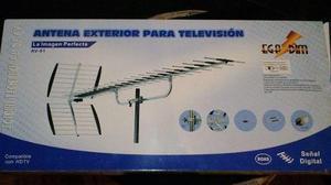 Antena Exterior Para Televisión Señal Digital Hdtv