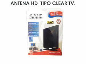 Antena Hd Para Interiores Tipo Clear Tv