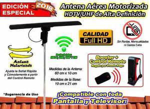 Antena Hd Profesional Universal Para Cualquier Decodificador