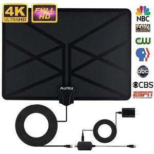 Antena Hd Tv Digital Con 4k 1080p Hd Vhf Uhf Tdt