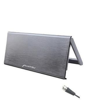 Antena Interior Amplificada Hdtv Plegable