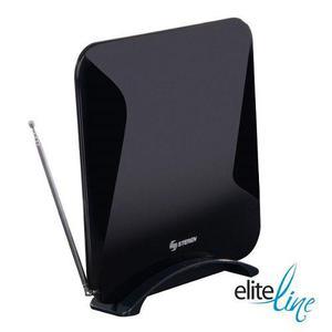 Antena Uhf Ultra Plana Con Booster De 25 Db