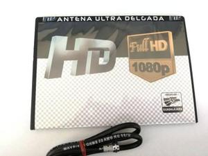Antena Ultra Delgada, Full Hd Para Interiores