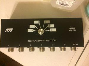 Aparato Antena Selector Mfj 1701 Para Radio