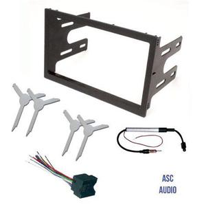 Asc Audio Car Stereo Dash Kit Adaptador De Antena De Arnés
